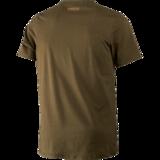Odin Moose & Dog T-shirt Willow Green_
