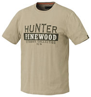 T-Shirt Pinewood Hunter Zandkleur