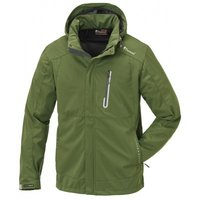Jas Pinewood Cumbria Stretch Shell Appelgroen