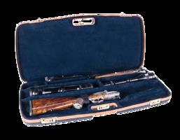 ABS Luxe geweerkoffer 2 lopen en 2 kijkers