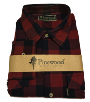 Flanellen Hemd Pinewood Texas Rood/Blauw