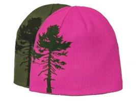 Muts Pinewood Tree Omkeerbaar Groen/Roze