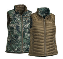 Vest Pinewood Wolf Reversible Camou - Dames