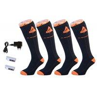 Verwarmbare sokken katoen 2 paar