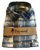 Flanellen Hemd Pinewood Texas Blauw