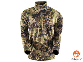 Core Midweight Zip T Optifade Ground Forest