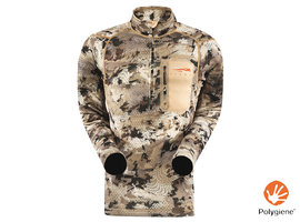 Core Midweight Zip T Optifade Waterfowl
