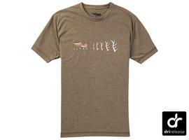 Antler Evolution Elk Tee Mud SS