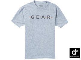 Gear Tee SS Heather Grey