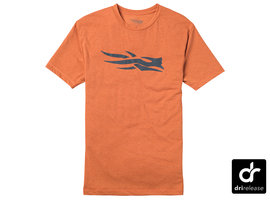 Sitka Logo Tee SS Burnt Orange