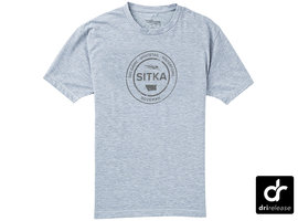 Sitka Seal Tee SS Heather Grey