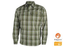 Globetrotter Shirt LS Cargo Plaid