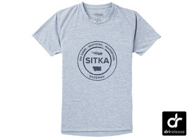 Womens Sitka Seal Tee SS Heather Grey
