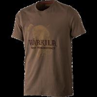 Odin Wild Boar T-shirt Demitasse Brown