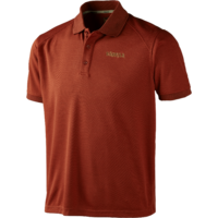 Gerit Polo Shirt Burnt Orange