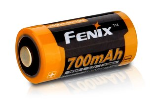 Fenix 16340 battery 700mAh (CR123A size)
