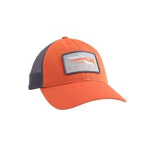 Meshback Trucker Cap Burnt Orange